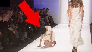 Models Falling Down Compilation
