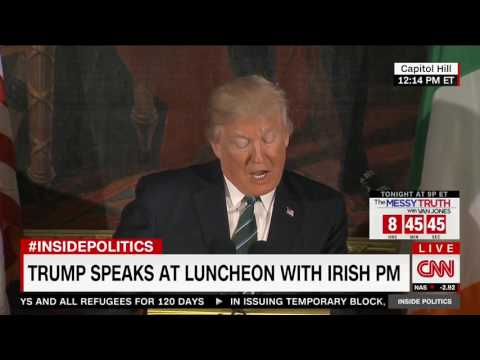 Trump Praises Contributions of Irish-Americans at Lunch with Irish Taoiseach
