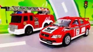 Мультики про машинки. Новые пожарные машинки в мультике – Большой пожар. Лего Мультфильмы для детей