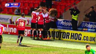 HIGHLIGHTS: DONCASTER ROVERS 3 CHARLTON 0 (JANUARY 2014)