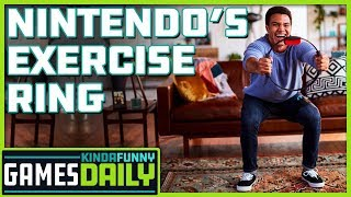 Nintendo's Exercise Ring - Kinda Funny Games Daily 09.12.19