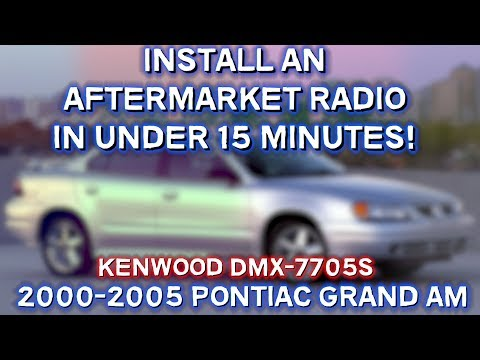 How to Install an Aftermarket Radio in 15 Minutes! (2000-2005 Pontiac Grand AM)