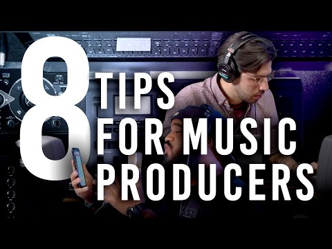 8 Tips to Keep You Inspired as a Music Producer