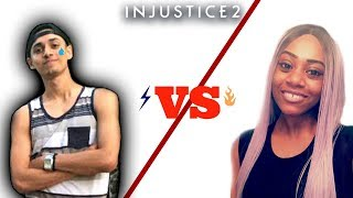MFSlayer loses to female player HZRDS Infinitii - Karma! - 2018 CEO TOP 24