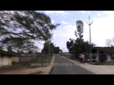 Highway from Jabalpur to Kanha - Madhya Pradesh