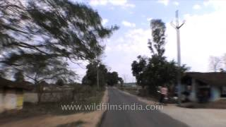 Highway from Jabalpur to Kanha - Madhya Pradesh