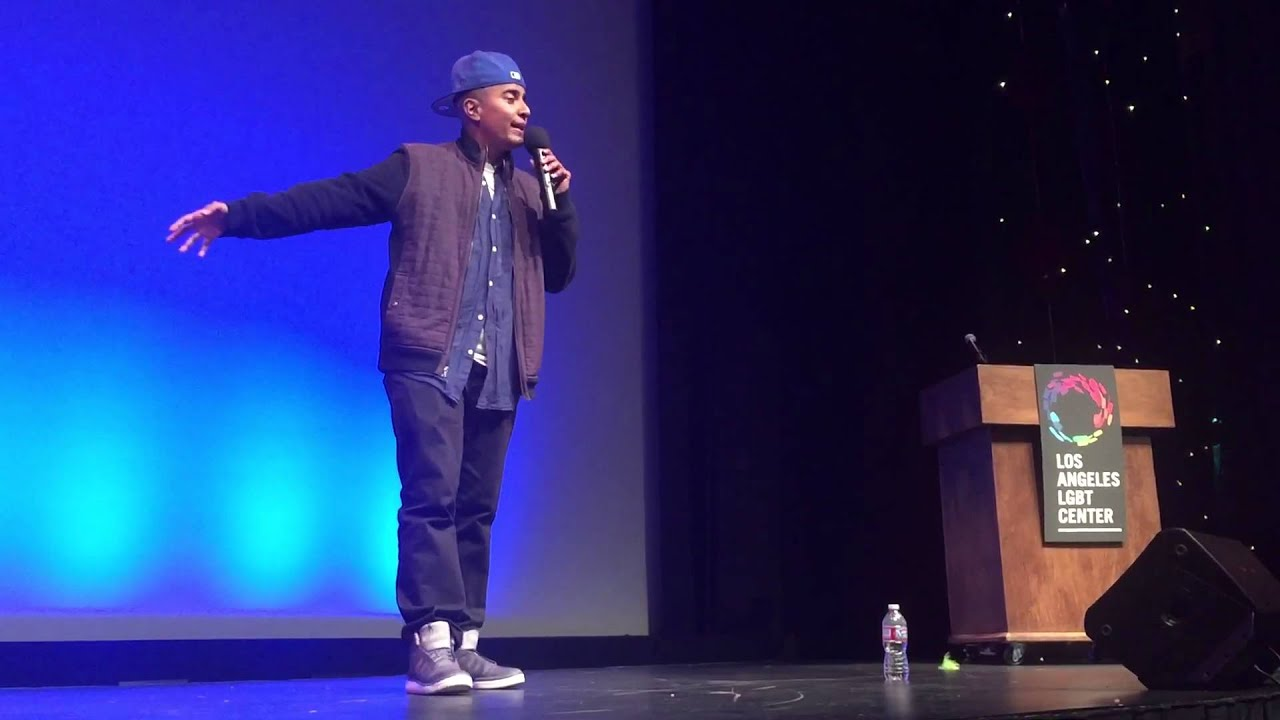 D'Lo Performs Comedy at Trans Pride Los Angeles