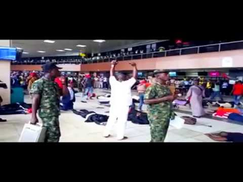 NIGERIA AIRFORCE KILLING BOKO-HARAM AT INTERNATIONAL LAGOS AIRPORT