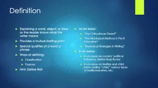 Lecture 2 Rhetorical Strategies
