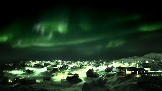Playing Football Under The Northern Lights | Earth From Space: Web Exclusives | Earth Unplugged