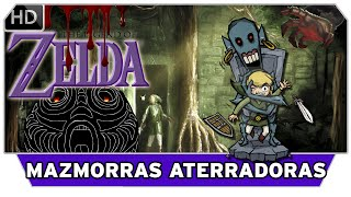 Top 10 - Mazmorras Más ATERRADORAS - The Legend of Zelda | NDeluxe