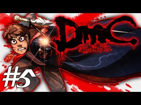 How Dante Got His Groove Back - DMC - Devil May Cry Gameplay / Walkthrough w/ SSoHPKC Part 5 - The Almighty Blue Rose