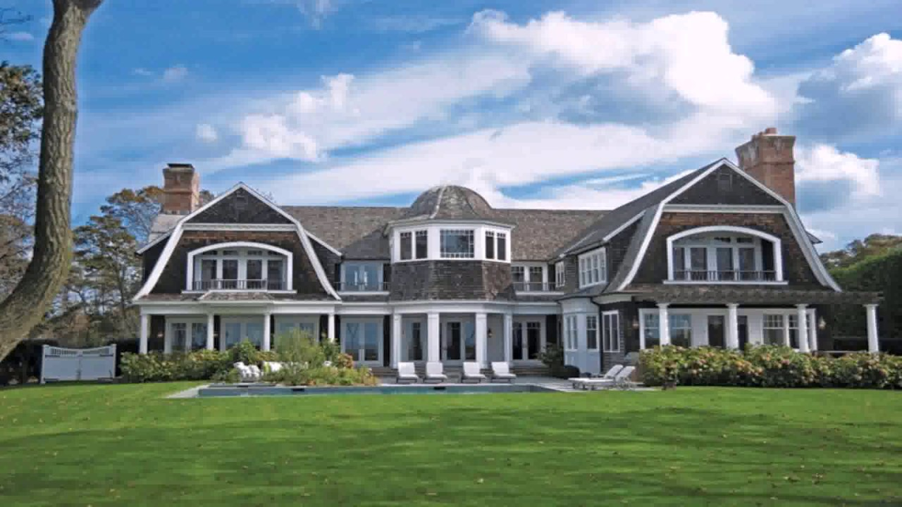 Hamptons style house plans youtube for Hampton style homes