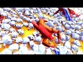 Unstoppable Chicken Army! - Totally Accurate Battle Simulator Sandbox Gameplay video
