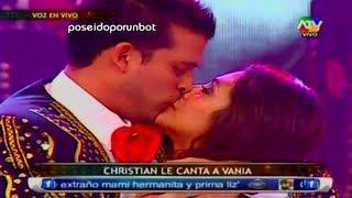COMBATE: CHRISTIAN DOMINGUEZ SORPRENDE A VANIA CON MARIACHIS POR SAN VALENTIN 14/02/13