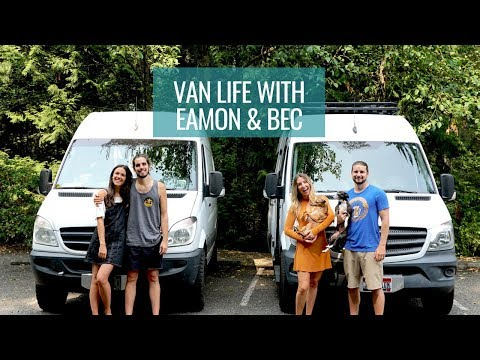 VAN LIFE AS A COUPLE | Behind the scenes with Eamon & Bec