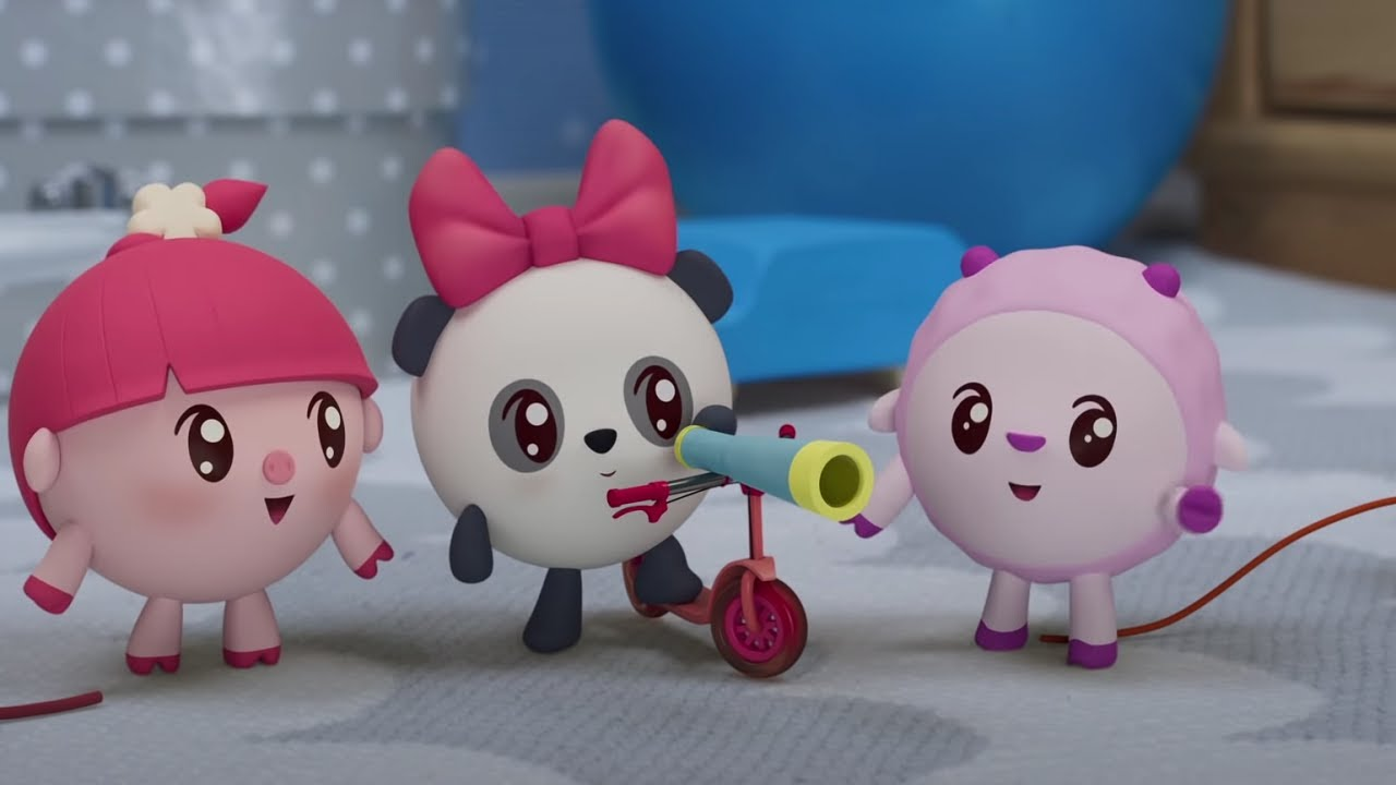 Малышарики –Усатый - полосатый 200 серия - Новые серии - Мультики 2021 для малышей