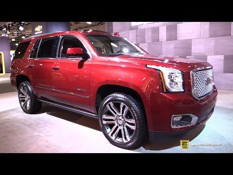 2017 GMC Yukon Denali - Exterior and Interior Walkaround - 2017 NY Auto Show