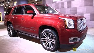 2017 GMC Yukon Denali - Exterior And Interior Walkaround - 2017 NY Auto Show