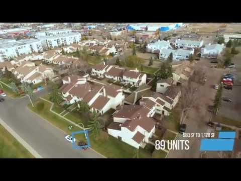 Huntington Hill Multi-Family Portfolio - 361 Town Home Units In Edmonton, AB