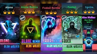 Download Rolling Sky All Alan Walker levels (Faded, Alone + Remixes, Ignite) Mp3