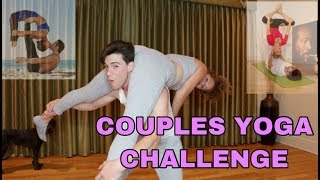 ADVANCED COUPLES YOGA CHALLENGE FT. MY BOYFRIEND ♡ Mahogany LOX