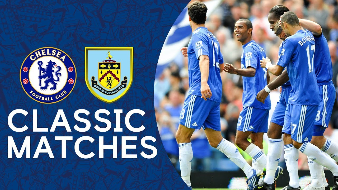 Chelsea 3-0 Burnley | Ashley Cole's First Stamford Bridge Goal | PL Classic Highlights 2009