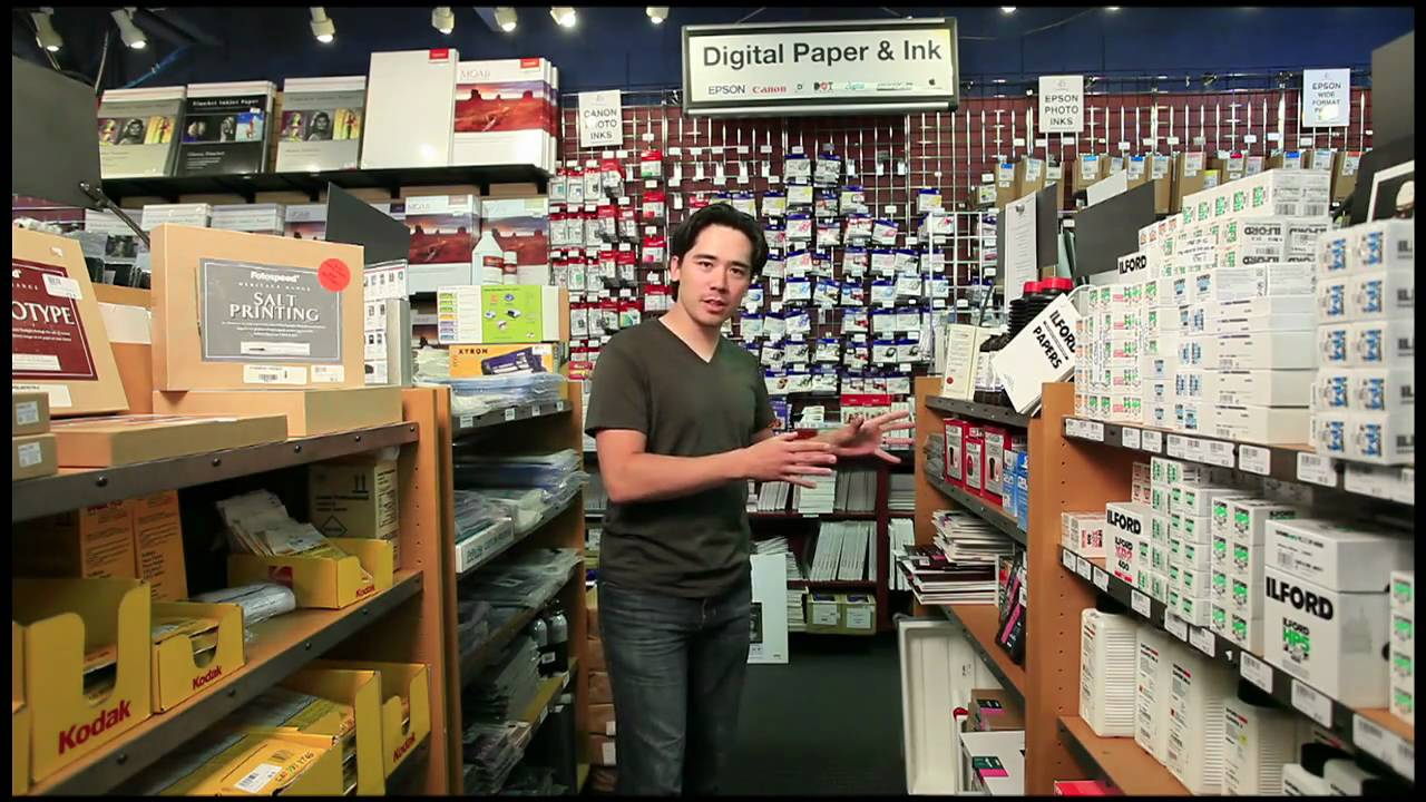 The Camera Store Tour - YouTube