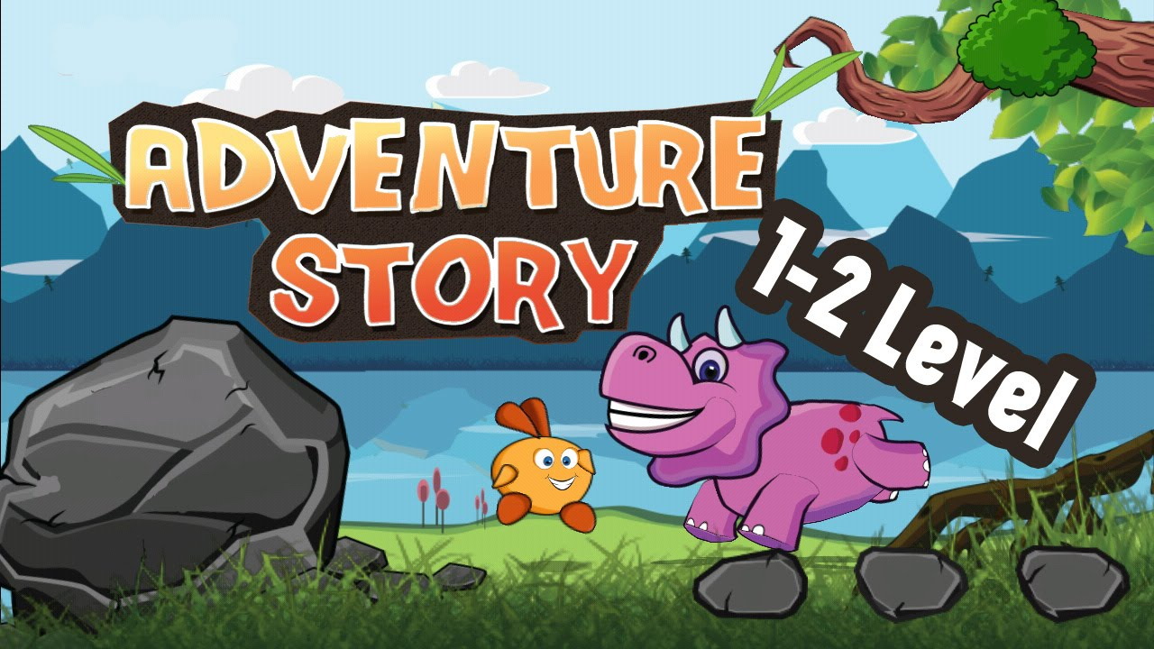 Cartoons for kids. Adventure story. 1-2 Level. Games for Kids ...