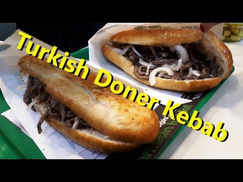 Турецкая ШАУРМА ( Донер Кебаб). Лучшая Шаурма в Турции