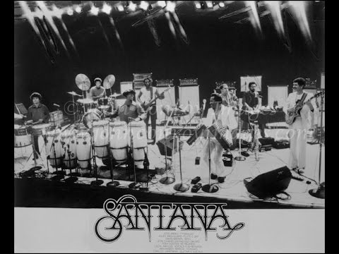 CARLOS SANTANA -- LIVE AT OKLAHOMA CITY - 1974