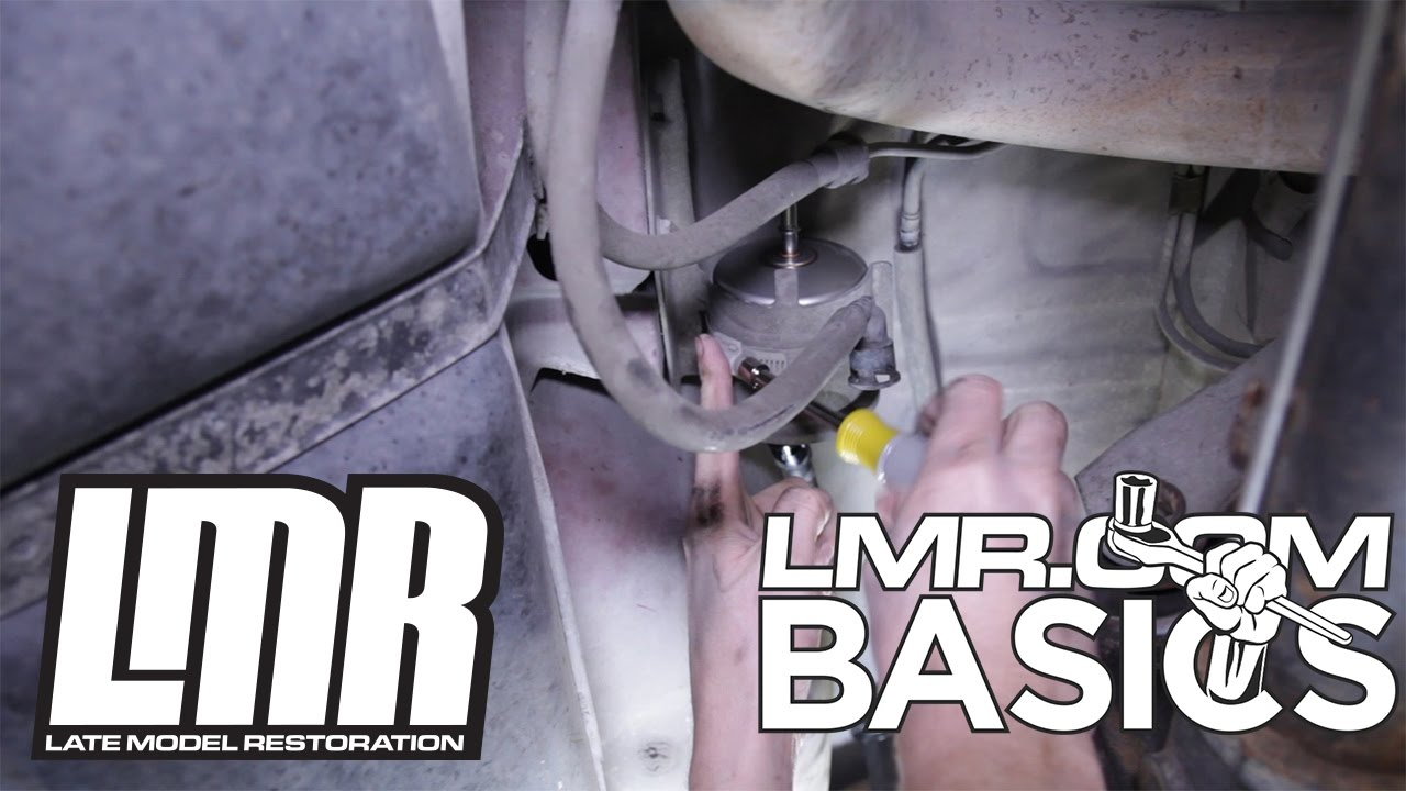 hight resolution of how to replace mustang fuel filter lmr basics youtubereplacing fuel filter 2001 mustang v6 14