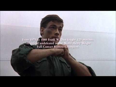 Van Damme aka Frank Dux  Bloodsport Ending Credit 1988 HD