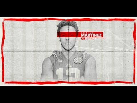Adrian Martinez 4⭐️ QB Nebraska Commit!! ULTIMATE Highlights!!