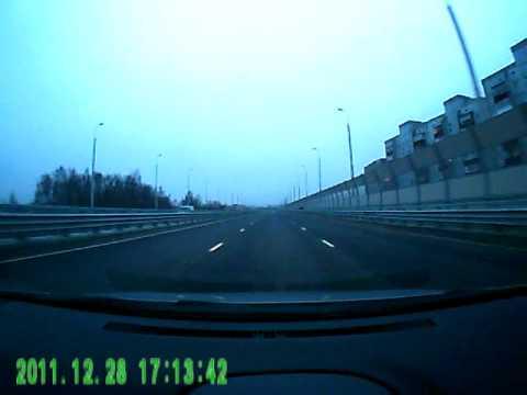 Видеорегистратор Prestigio RoadRunner 500 FullHD пример .