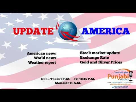 13   October 2016  Update America  News Show  Punjabi Radio USA