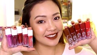eB Advance Liquid Lipsticks LTD  Original REVIEW and SWATCHES!