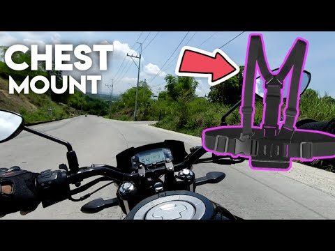 CHEST MOUNT CAMERA VIEW | GOPRO ACCESSORIES