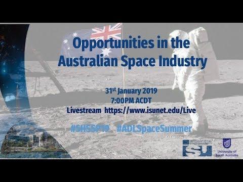 SHSSP19 - Opportunities In Australia's Space Industry