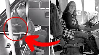 Bus Driver Keeps Girl On Bus Longer Than Others, Then Dad Learns It's Because Of Her Hair
