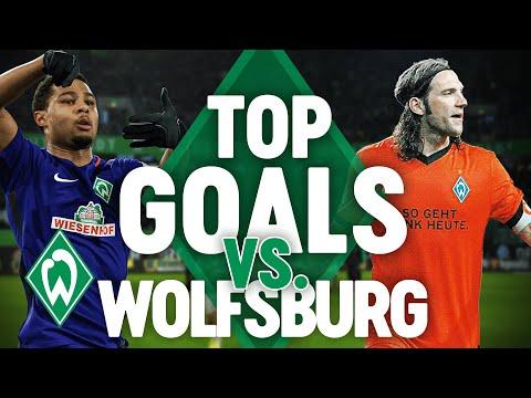  Eine schöner als die andere: Werders beste Buden gegen Wolfsburg