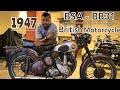 1947 || Bsa Bb31 || British Motorcycle || Test Ride || Vintage Bikes Review || Vintage Motorcycles