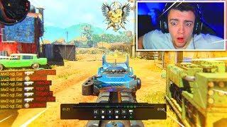 My REACTION to the #1 Black Ops 4 Player.. (insane)