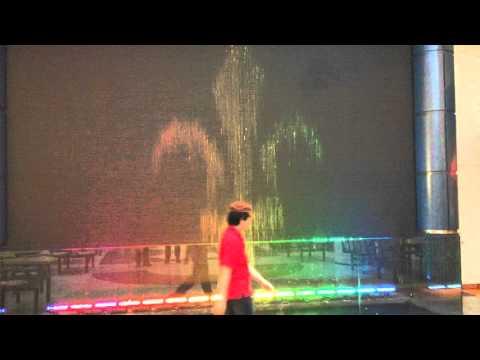 Fontaine graphique  Place Versailles