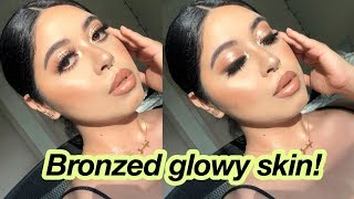 EASY SUMMER BRONZE MAKEUP TUTORIAL