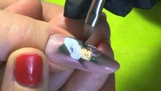 Наращивание ногтей. Акриловая лепка