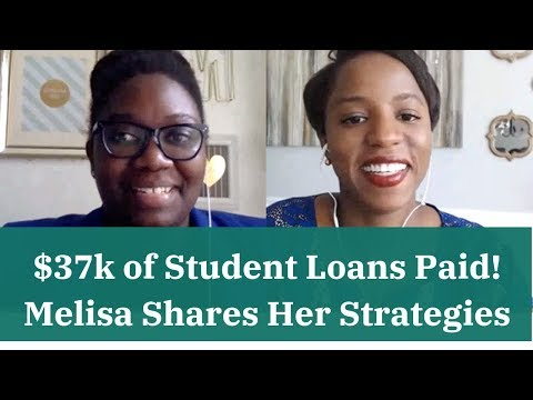 $37K of Student Loans Paid Off: Melisa Boutin Shares Her Tips!