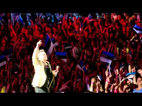 Robbie Williams - Live In Tallinn - Available on DVD & Blu-Ray
