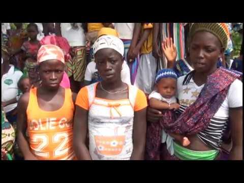 Adolph Dagan visiting Daganhoé ( Togo ) with Dagan Foundation & Action Bethesda