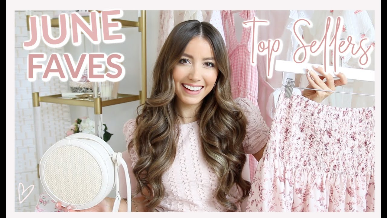 JUNE FAVORITES 2020 + TOP SELLERS OF THE MONTH! 💗